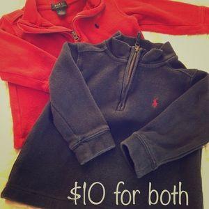 Polo kids zip-neck sweater bundle